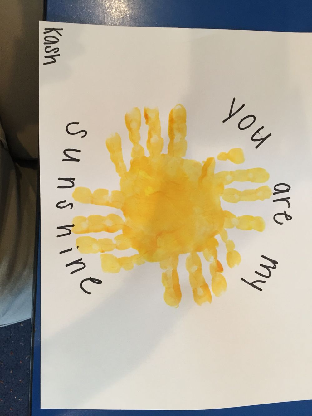 You Are My Sunshine Mother's Day crafts