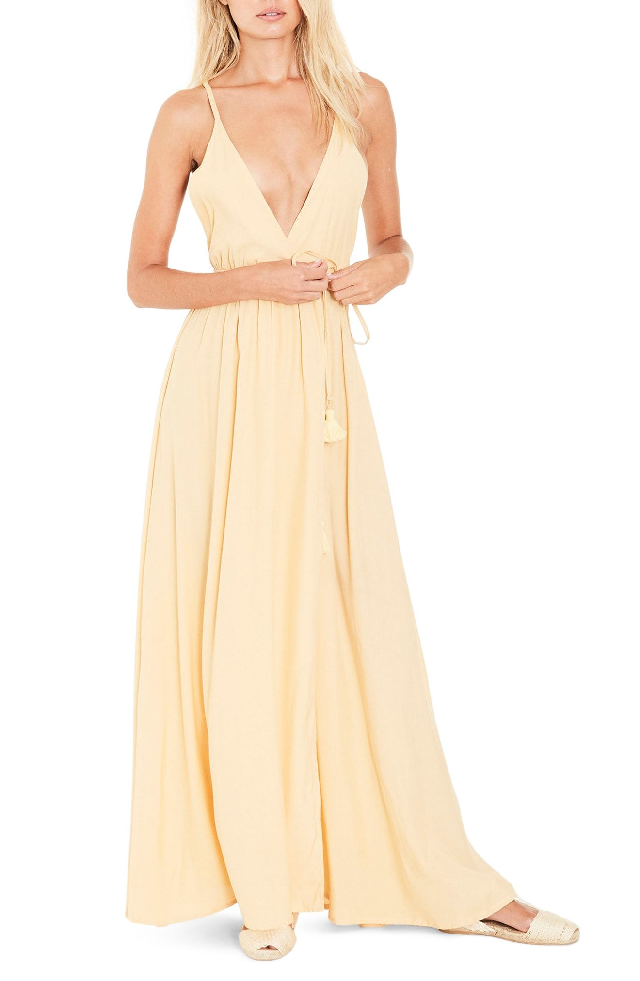 Faithfull The Brand Santa Rose Strappy Maxi Dress Maxi Dress Style Maxi Dress Dresses [ 2024 x 1320 Pixel ]