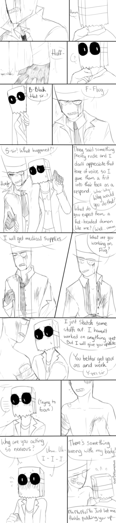 PaperHat Request 8]: Patch Up by owoSesameowo | Villainous