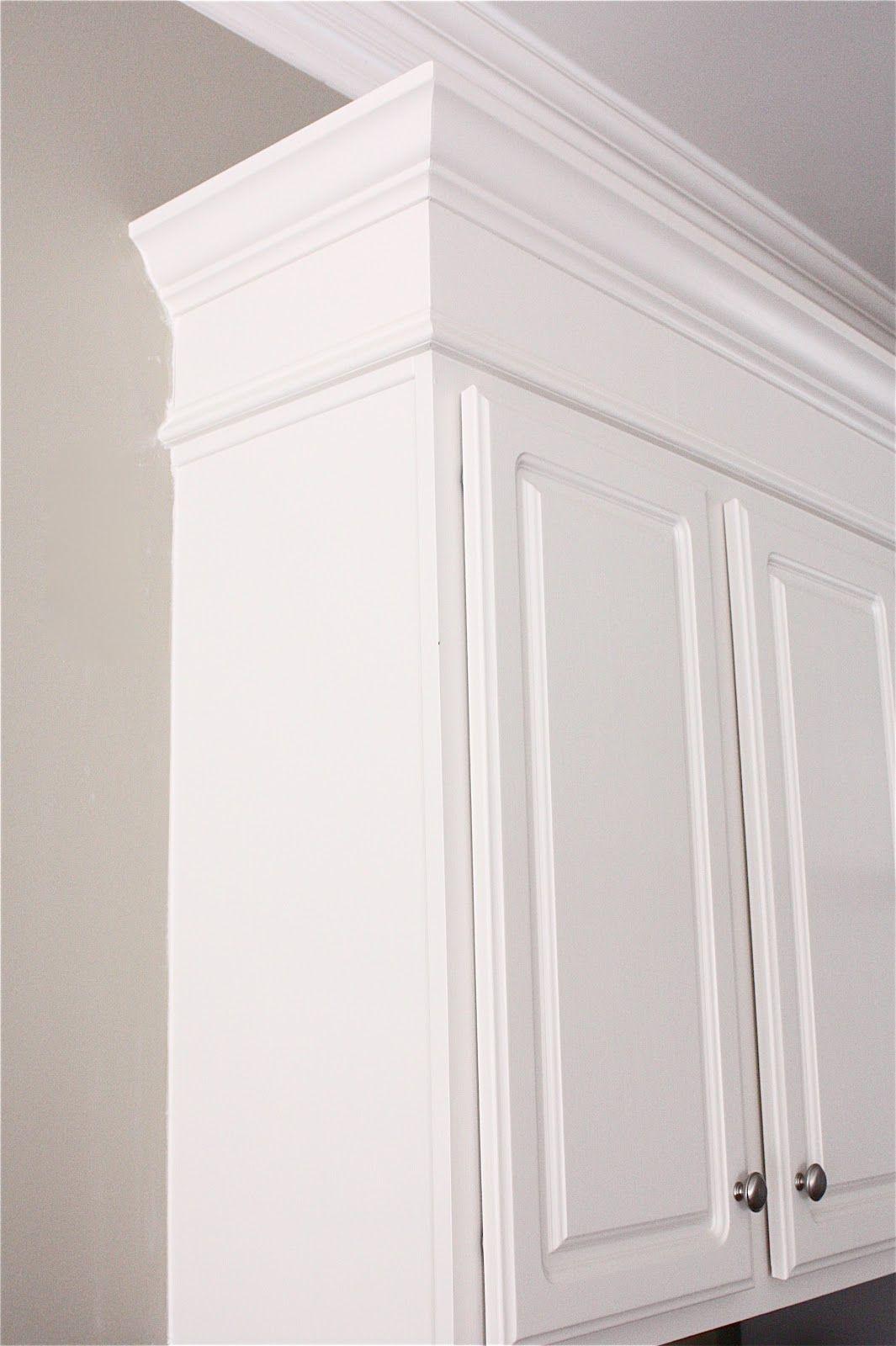 Kitchen DIY  Make kitchen cabinets look taller with