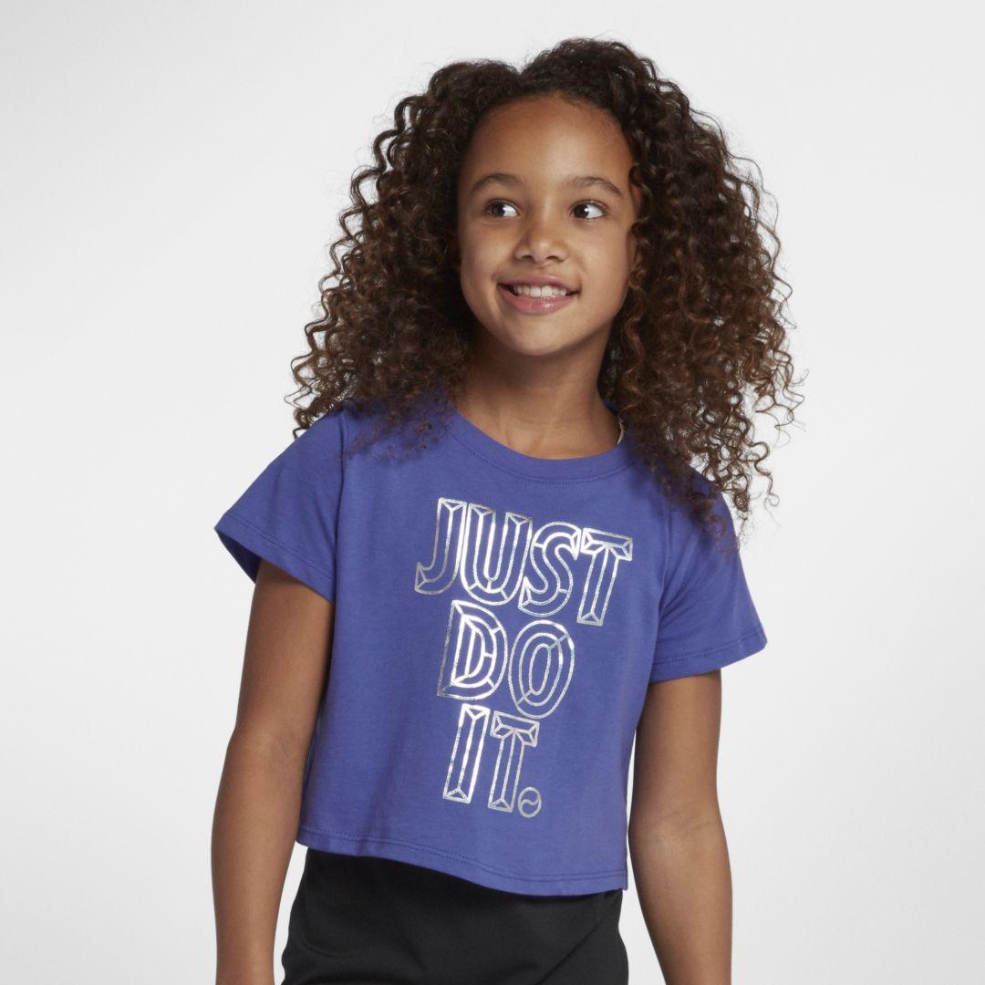 a99ec5f04e Sportswear Big Kids' (Girls') JDI Cropped T-Shirt in 2019   Products ...