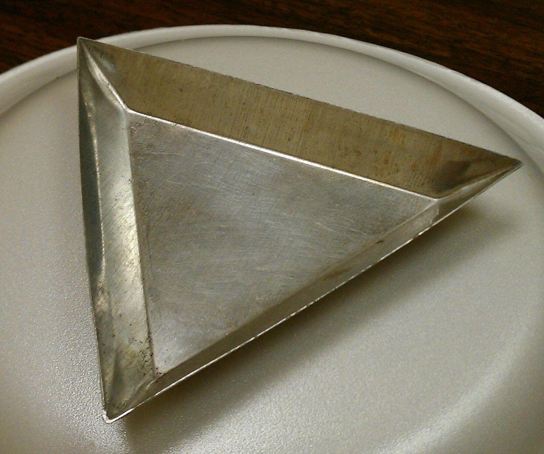 Aluminum Triangle Tray 3 3 8 Inch Tray Triangle Aluminum