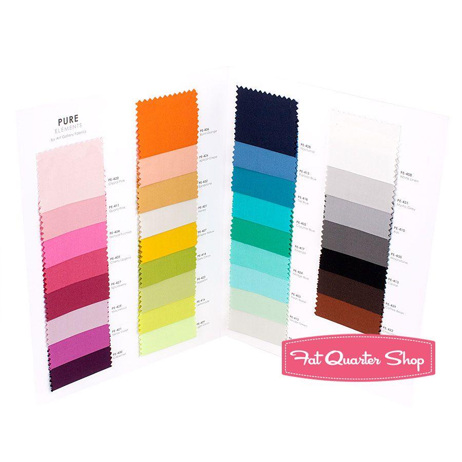 Pure Elements Solids Color Card Pat Bravo Art