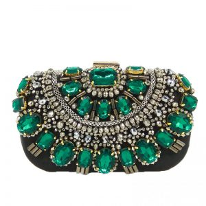 Women S Luxury Evening Bag Swallum In 2020 Beaded Evening Bags Crystal Handbag Women Handbags