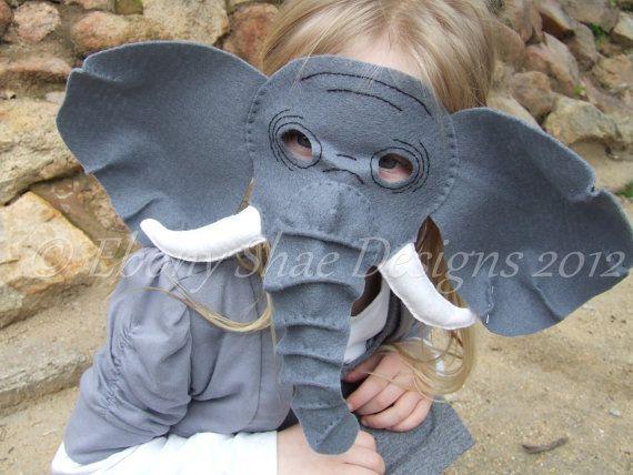 Baby Toddler Grey African Elephant Zoo Animal Fancy Dress Costume Big Ears