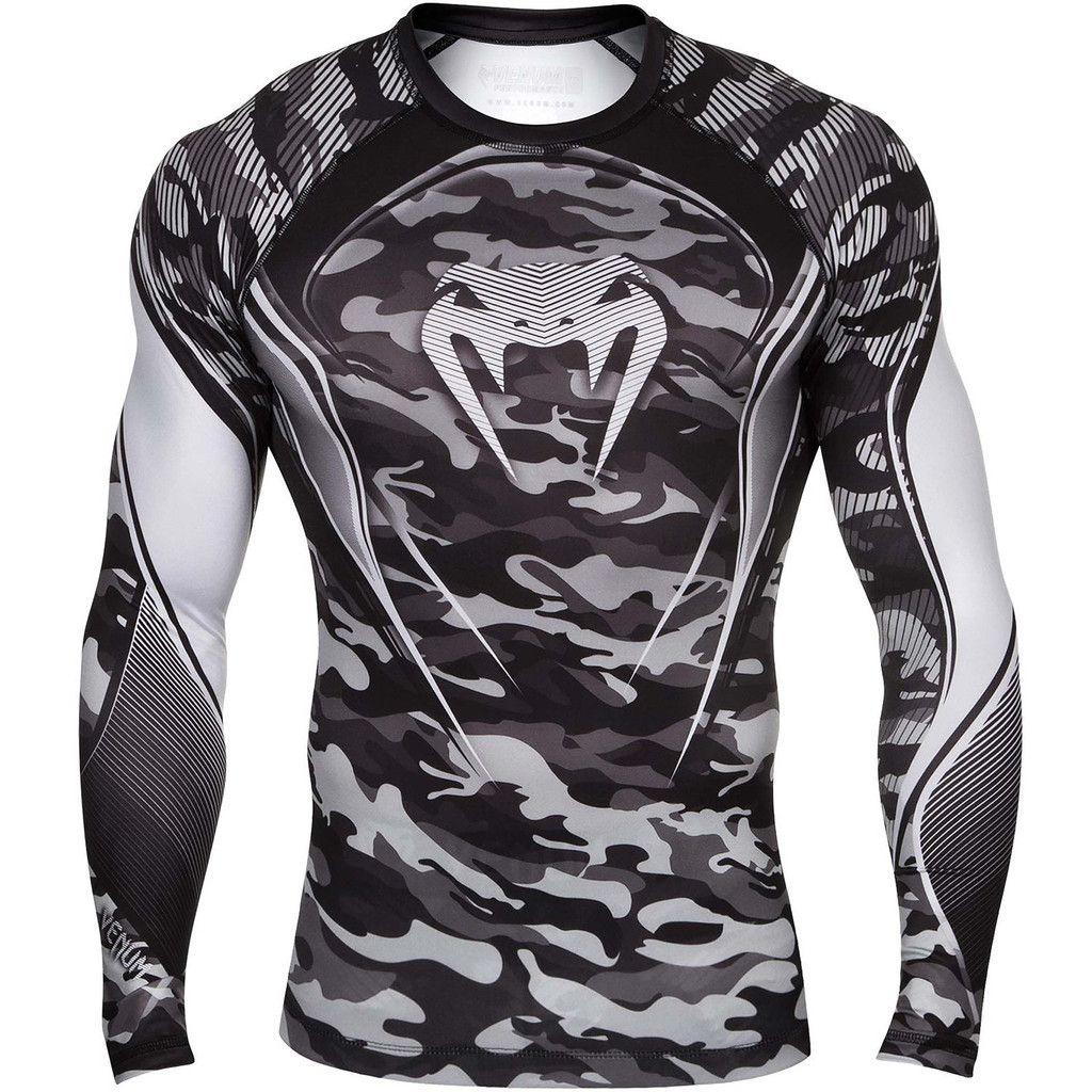 Venum Hero Longsleeve Compression Shirt - Grey  d893b5f93b3e4