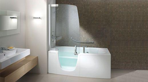 bañera arredo Pinterest Bañera, Baños y Pijama - Baos Modernos Con Ducha Y Baera