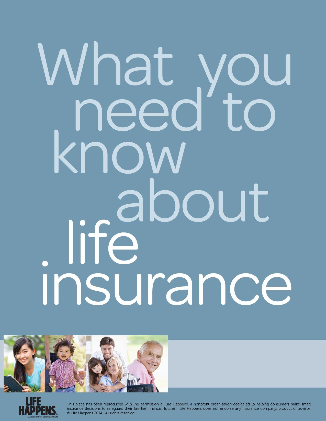 What You Need To Know About Life Insurance Brochure Life Happens