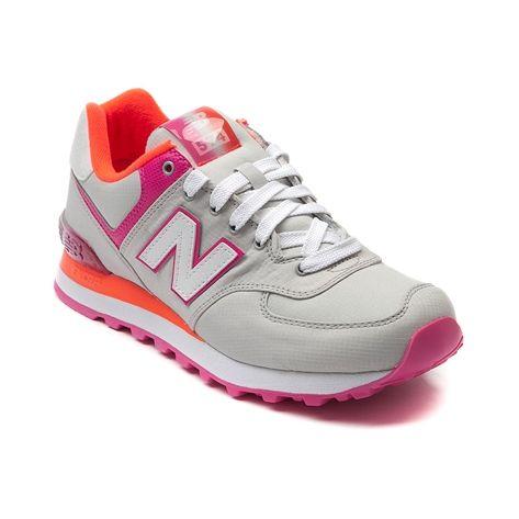 new balance 574 pink and grey