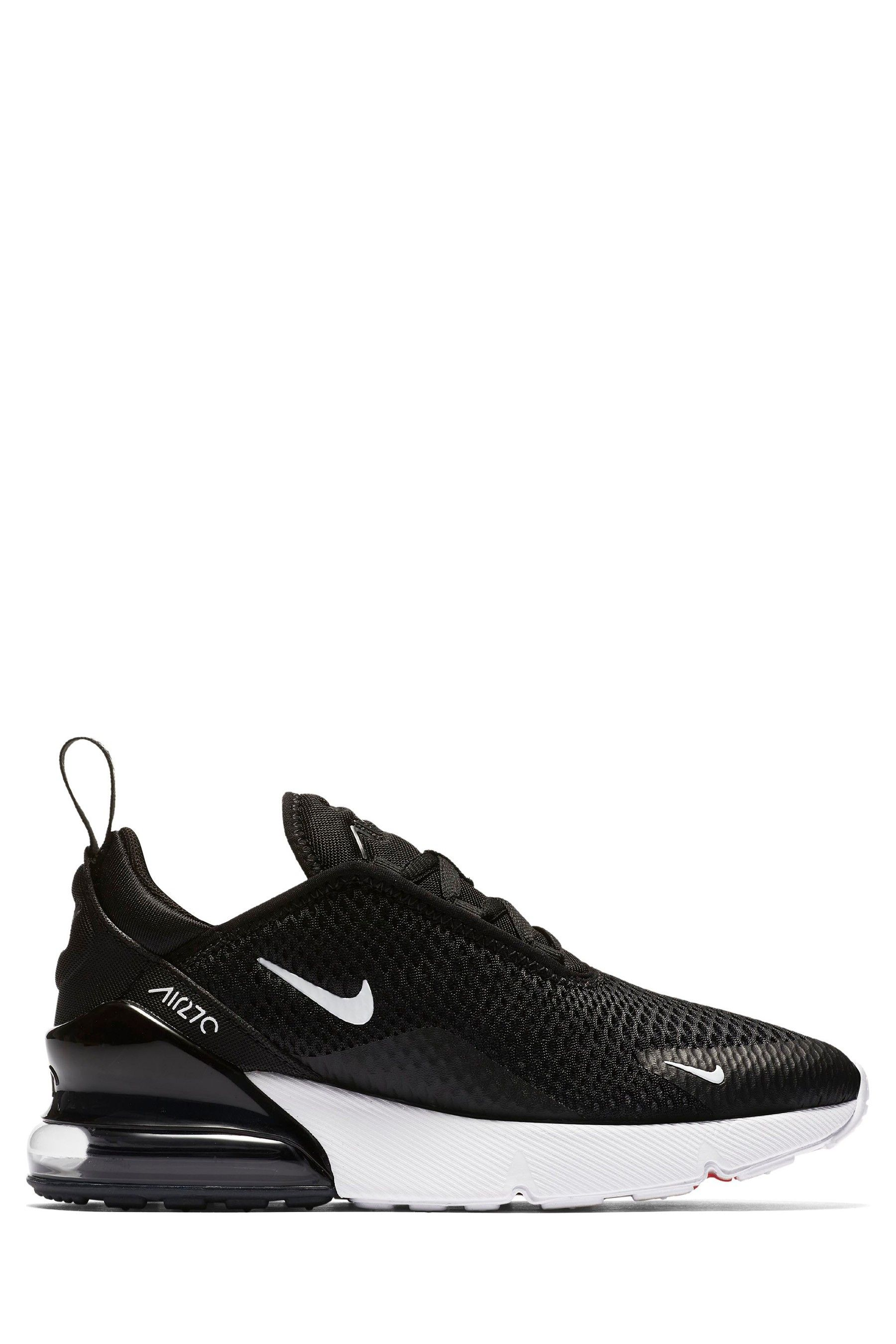 the best attitude 8e46a ed698 Boys Nike Black Air Max 270 Junior - Black | Products in ...