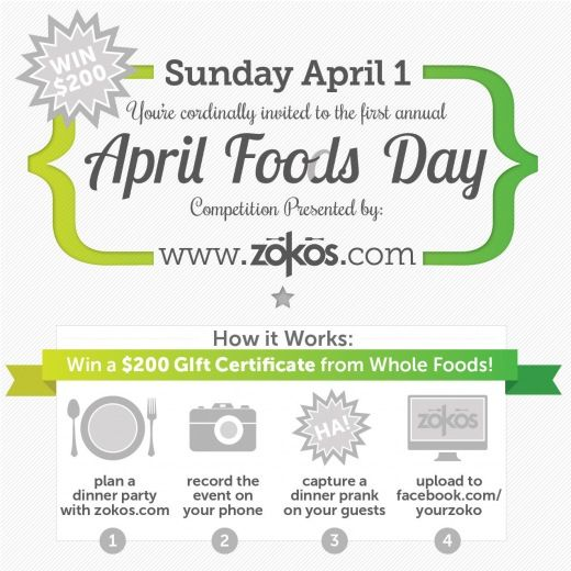 April Foods Day