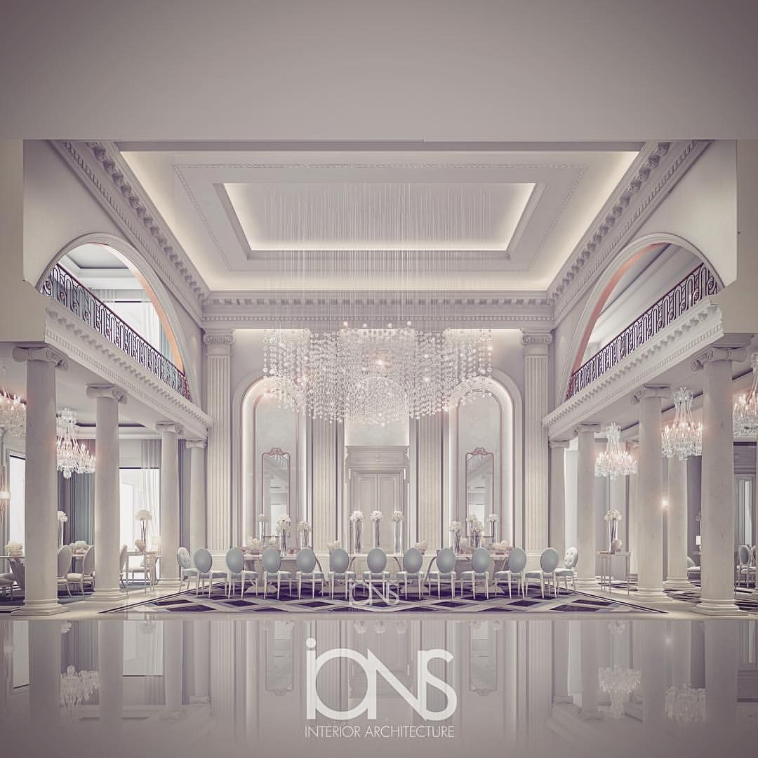 Ions Interior Design Dubai the grand dining | ions latest mansion interior