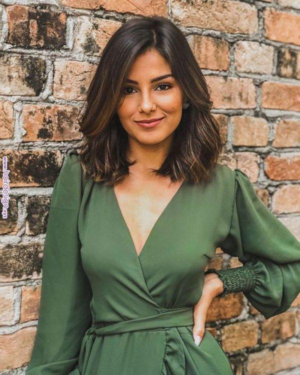 Hairstyle trends 2019 - cute medium length hairstyles
