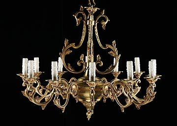 French antique bronze 12 light chandelier antique chandeliers french antique bronze 12 light chandelier chandelier saleantique brass aloadofball Image collections
