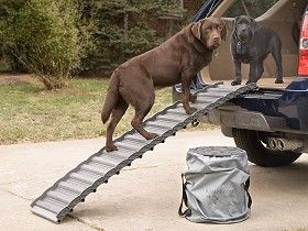 Dog Ramp For Truck >> Dog Ramp For Suv Cars Trucks Roll Up Ramps Made In Usa