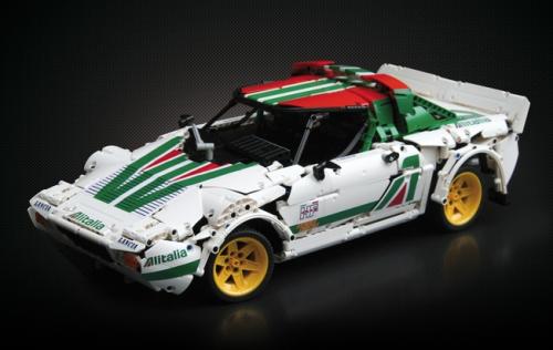 Lego Technic Lancia Stratos HF Alitalia | Lego | Lego, Lego