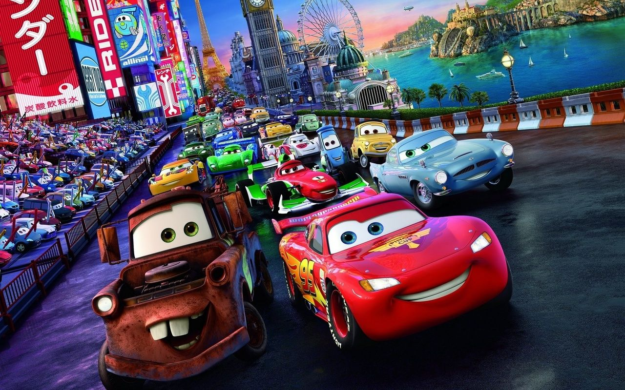 Cars The Movie Cars 2 Movie Characters Hd Wallpaper Disney