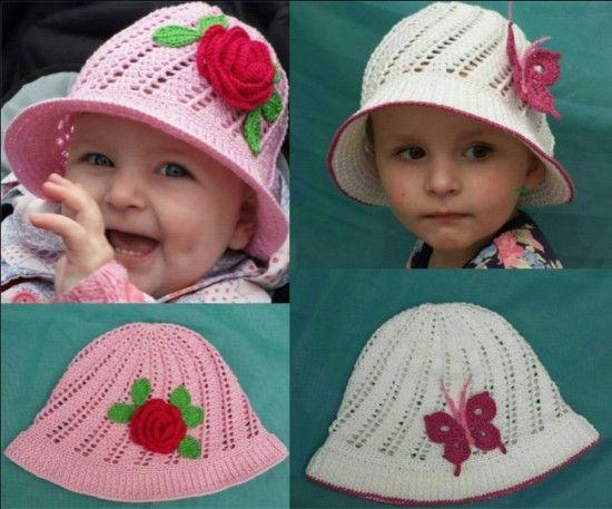 Free Crochet Cloche Hat Pattern For Children