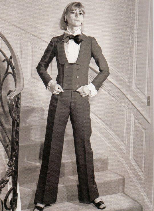 pantalon yves saint laurent annees 70 70 39 s pinterest le smoking yves saint laurent et. Black Bedroom Furniture Sets. Home Design Ideas