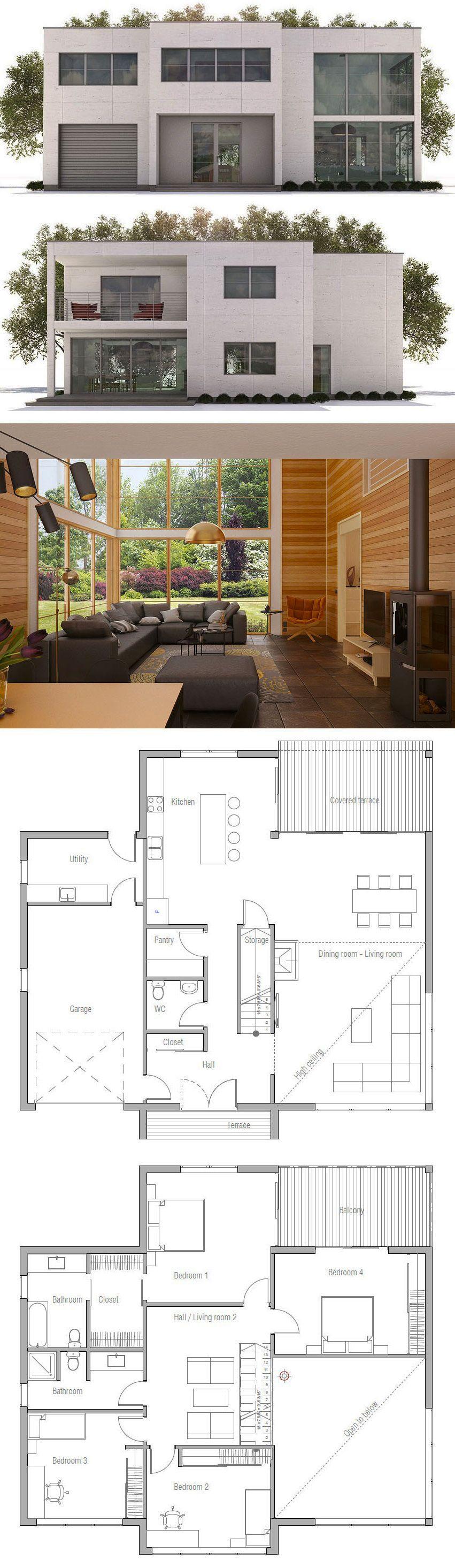 Maison Minimaliste Plan De Maison Maisons Minimalistes In 2018