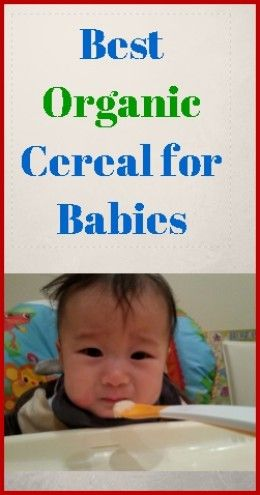 Rice Cereal Facts Best Organic Rice Cereal For Babies Organic Baby