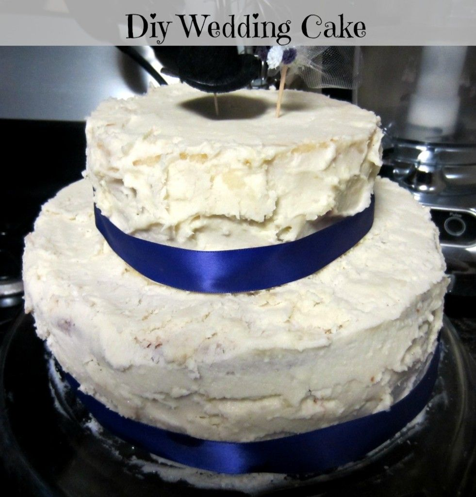 Diy Wedding Cake Best Ever Recipe White Almond Ercream With Strawberries So Delicious And You Can Do It Yourself