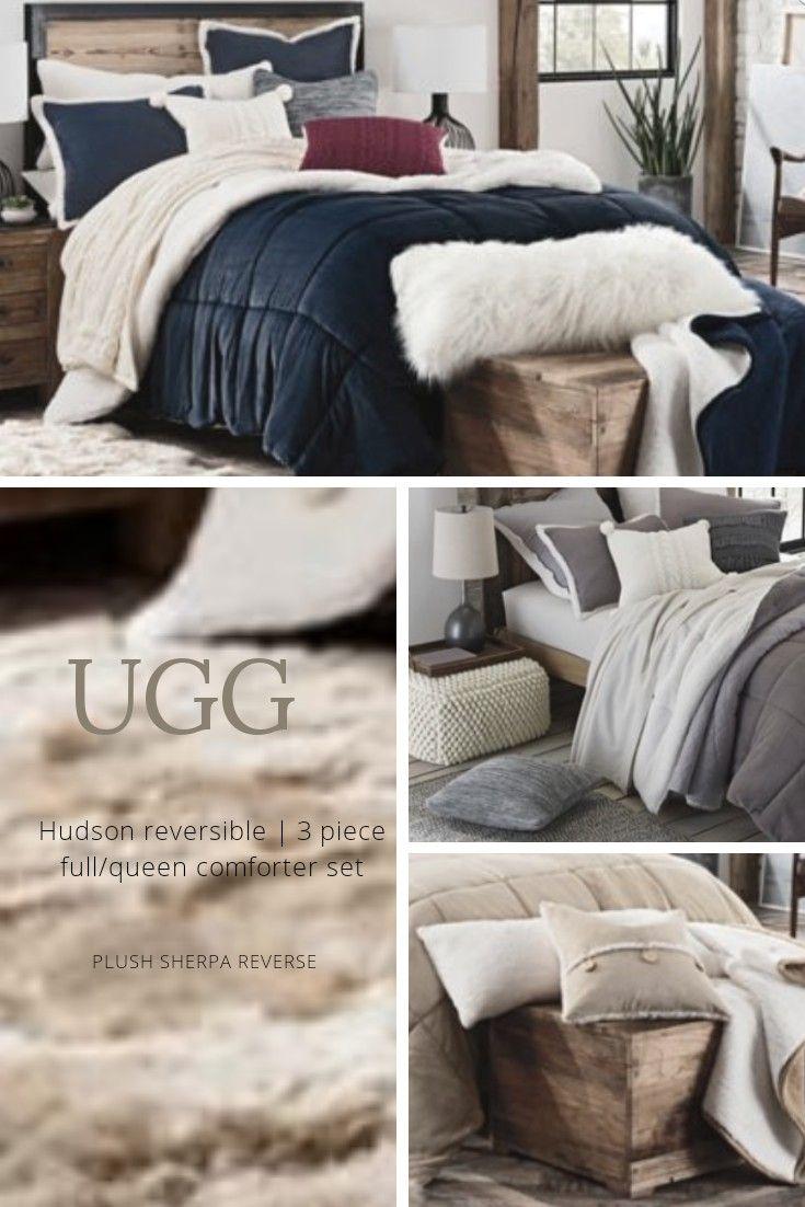 clean fuzzy popular set faux lodge fur comforter ecrins