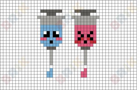 Syringe Pixel Art Pixel Art Lego Art Pixel Art Design