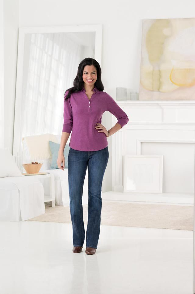 Petites' jeans at a low price from Riders by Lee: Several Styles of Petites' Jeans Available from Lee