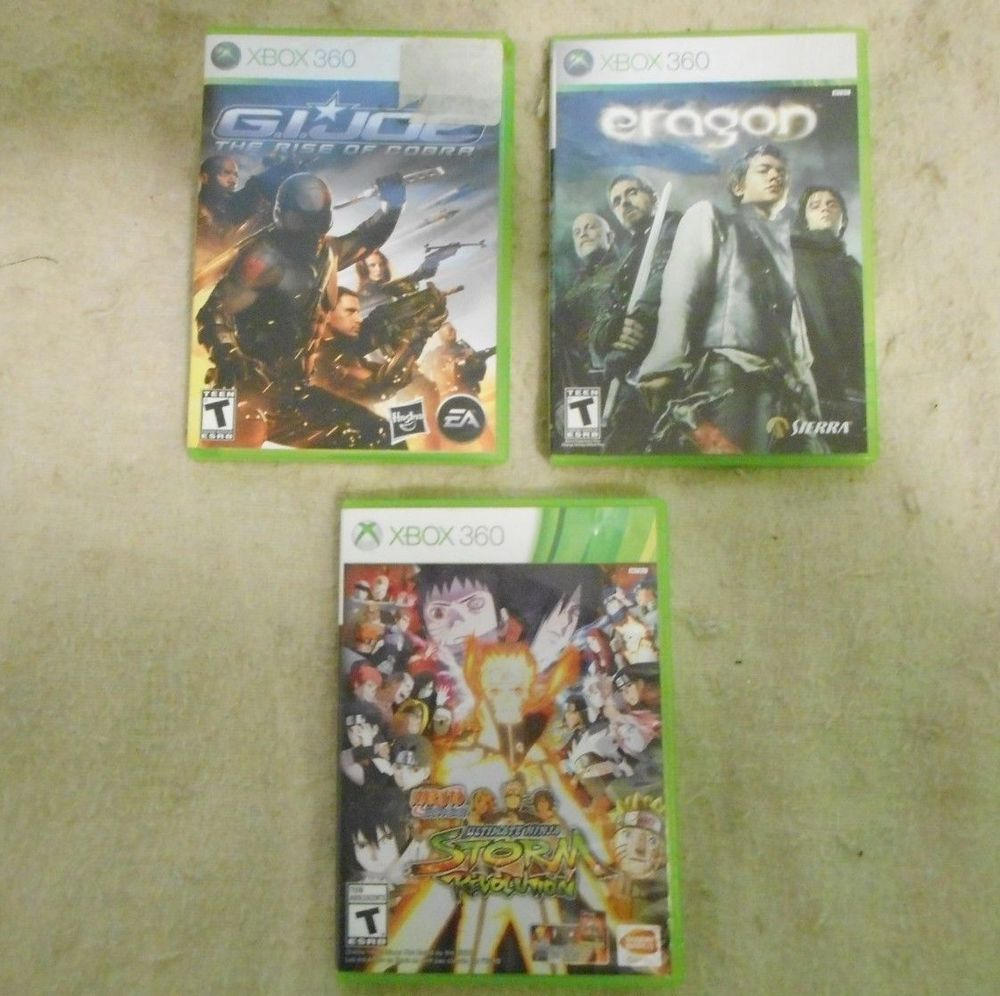 Xbox 360 3 Great Titles Game Lot Xbox360 Xbox Xbox 360 Games