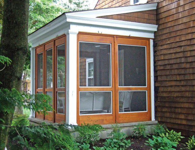 modern screened porch gazebo screened in porch 3 season porch porch. Black Bedroom Furniture Sets. Home Design Ideas