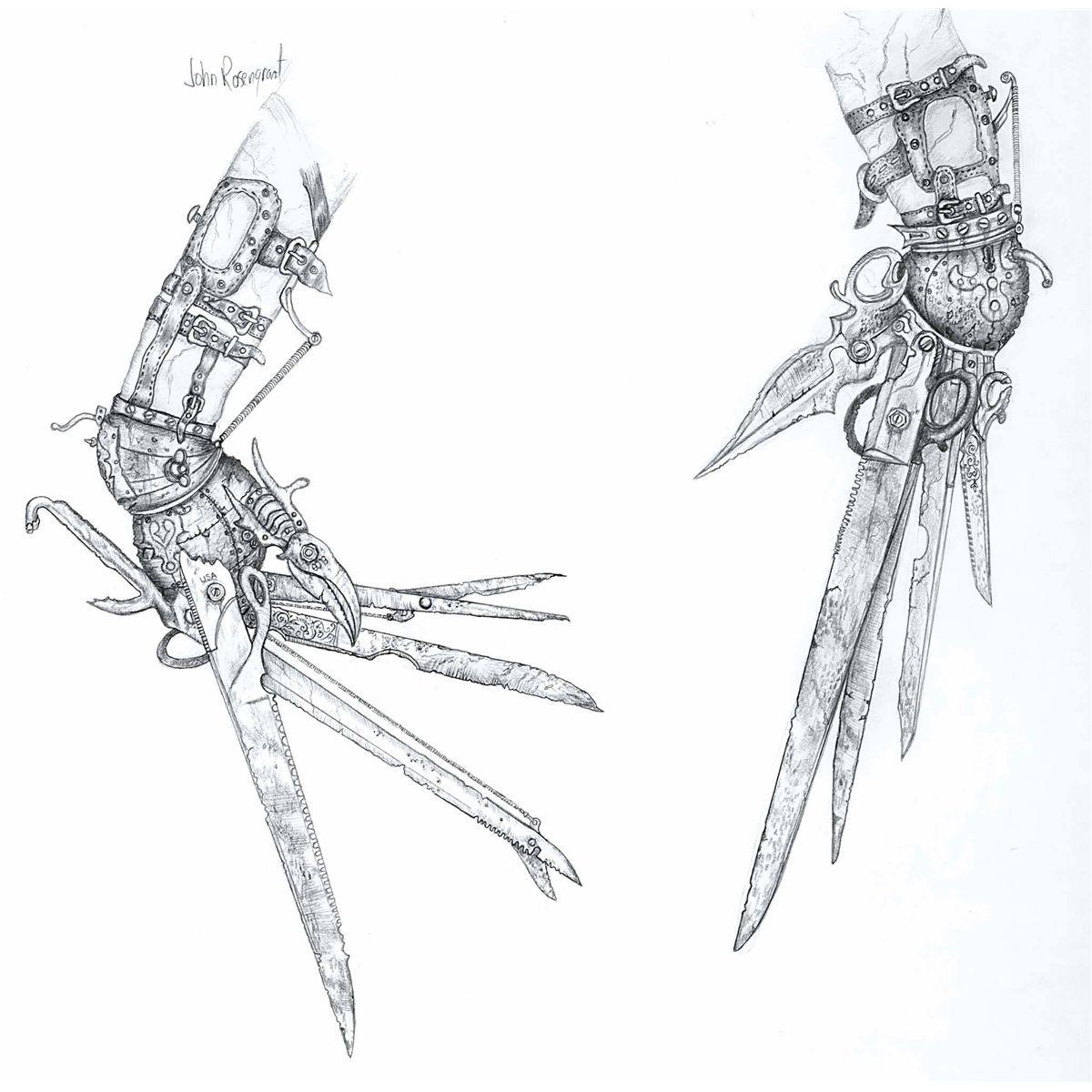 Edward Scissorhands Tim Burton Art Edward Scissorhands Tattoo