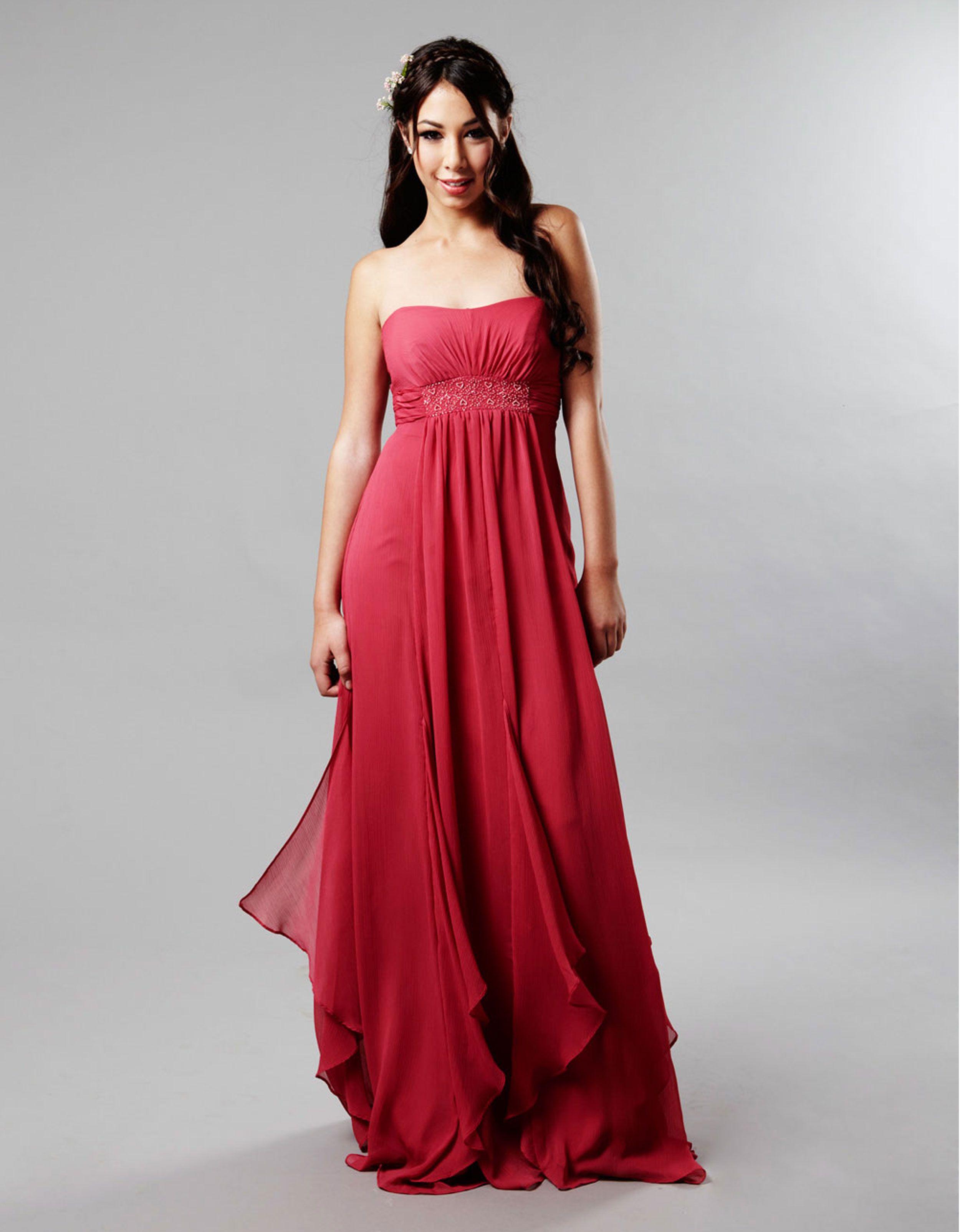 Wedding bridesmaids oscar vitoni bridesmaid dress gowns red wedding bridesmaids oscar vitoni bridesmaid dress ombrellifo Gallery