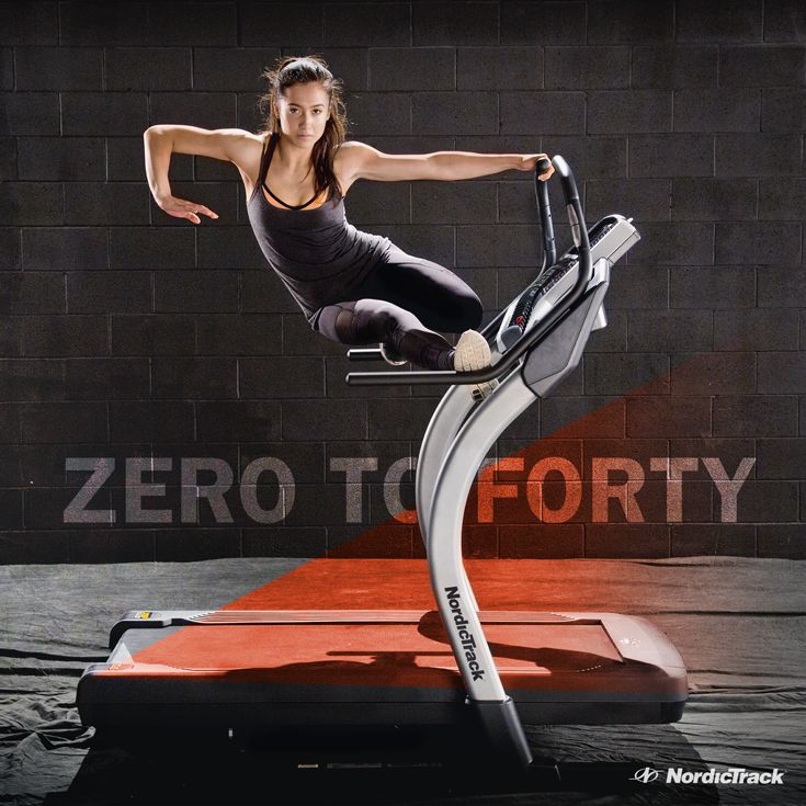 This is more than a treadmill. Take your workouts to new heights with the power of the Incline Trainer from NordicTrack.