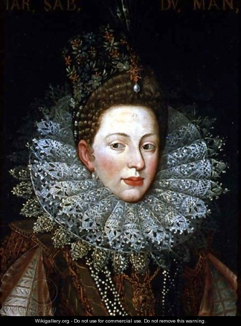 Frans Pourbus the younger (1569–1622) Portrait of Margaret Gonzaga, Duchess of Savoy