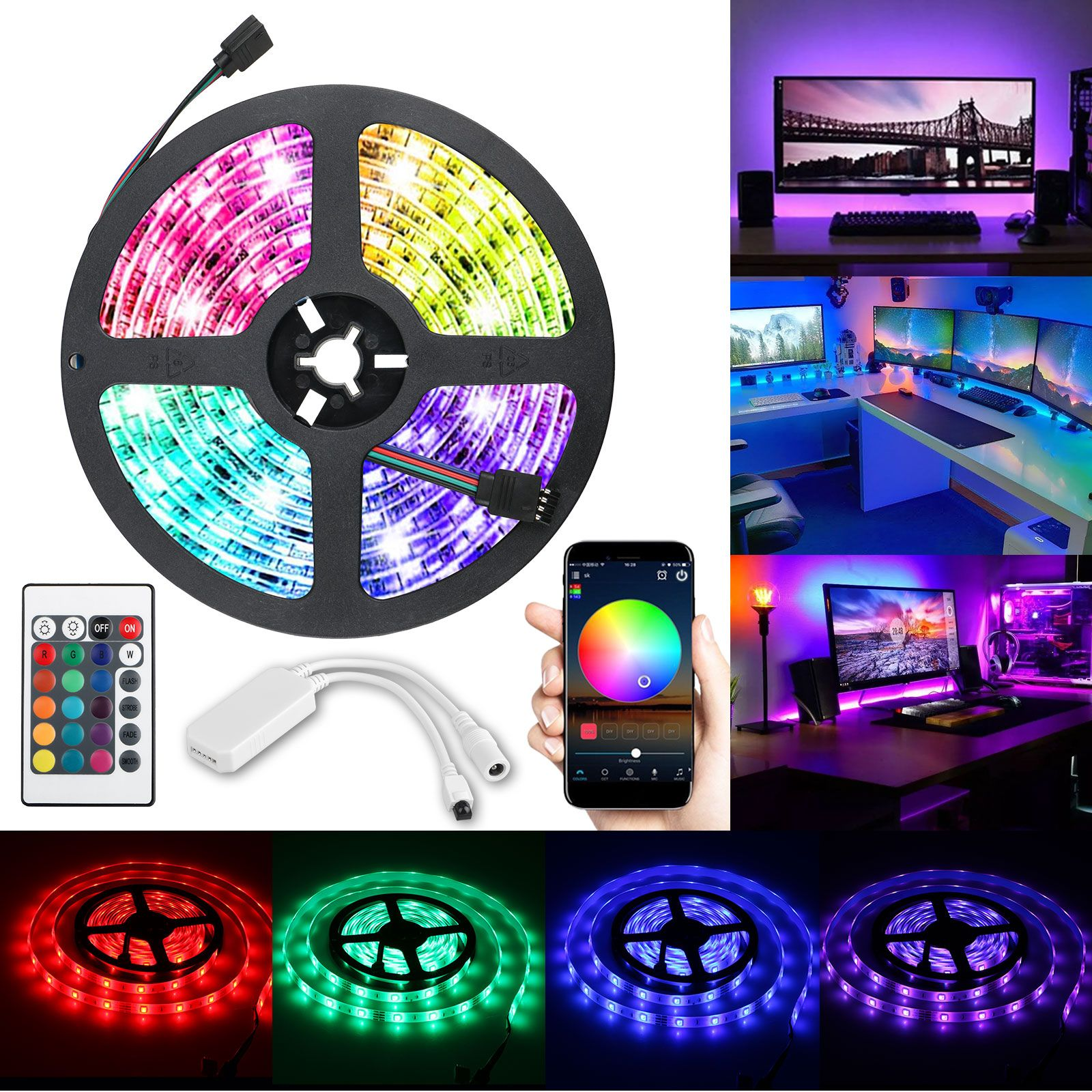 Home in 2020 Color changing rope lights, Strip lighting