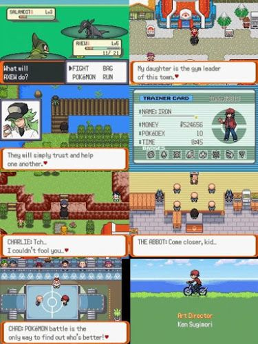 Pokemon Victory Fire Game Pokemon Mega Ruby Pokemon
