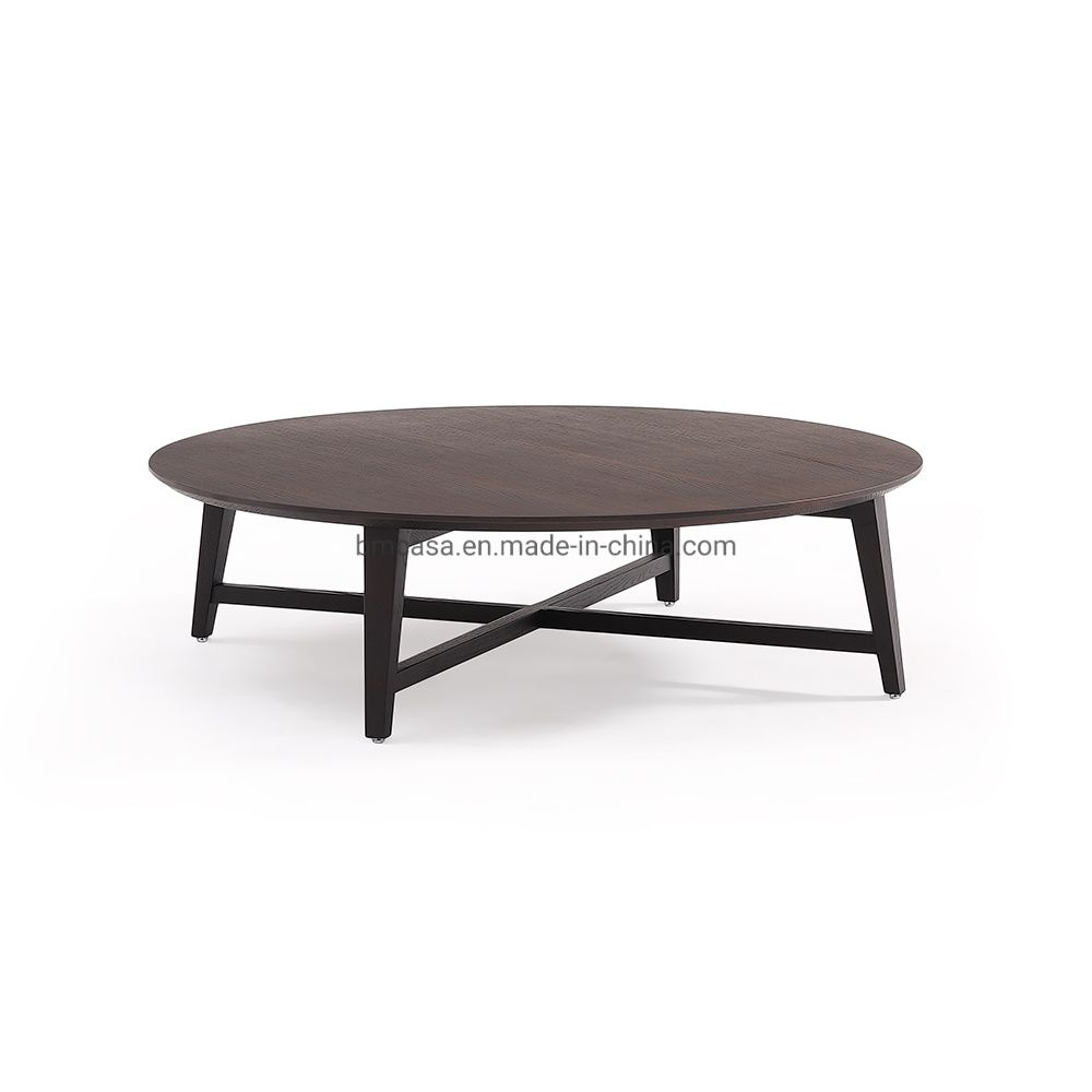 Chinese Manufacturer Simple Modern Living Room Wood Tea Table Round Coffee Tables In 2021 Coffee Table Living Room Wood Modern Home Furniture [ 1000 x 1000 Pixel ]
