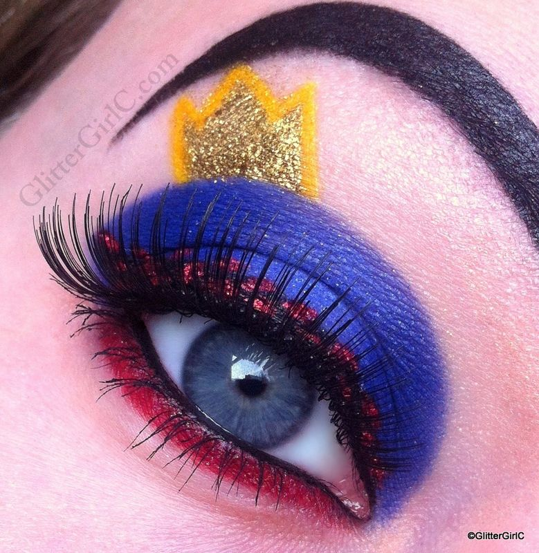 Snow White - Evil Queen make-up