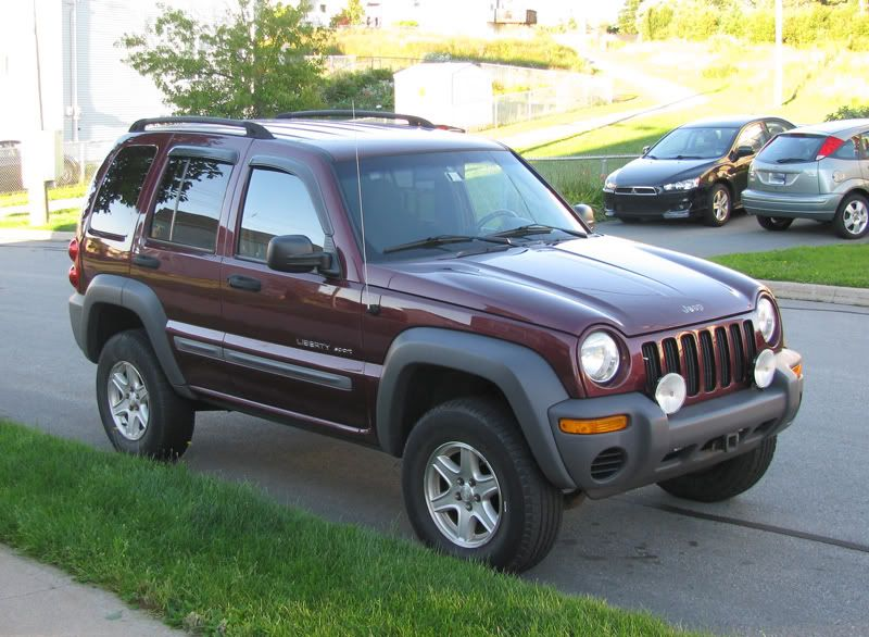35 Lift Kit Jeep Liberty Rock C Thread Fs 2002