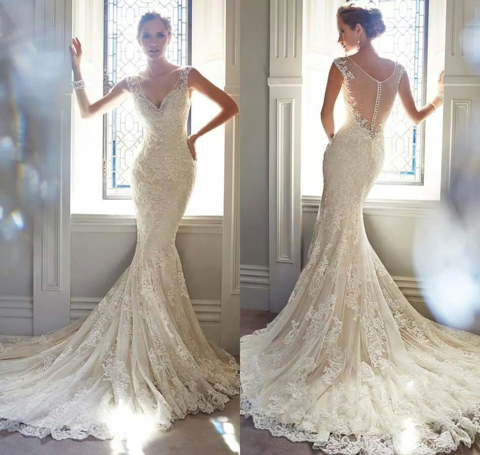 Best wedding dresses aliexpress  Vestido sirena  Wedding dresses  Pinterest  Wedding dress and