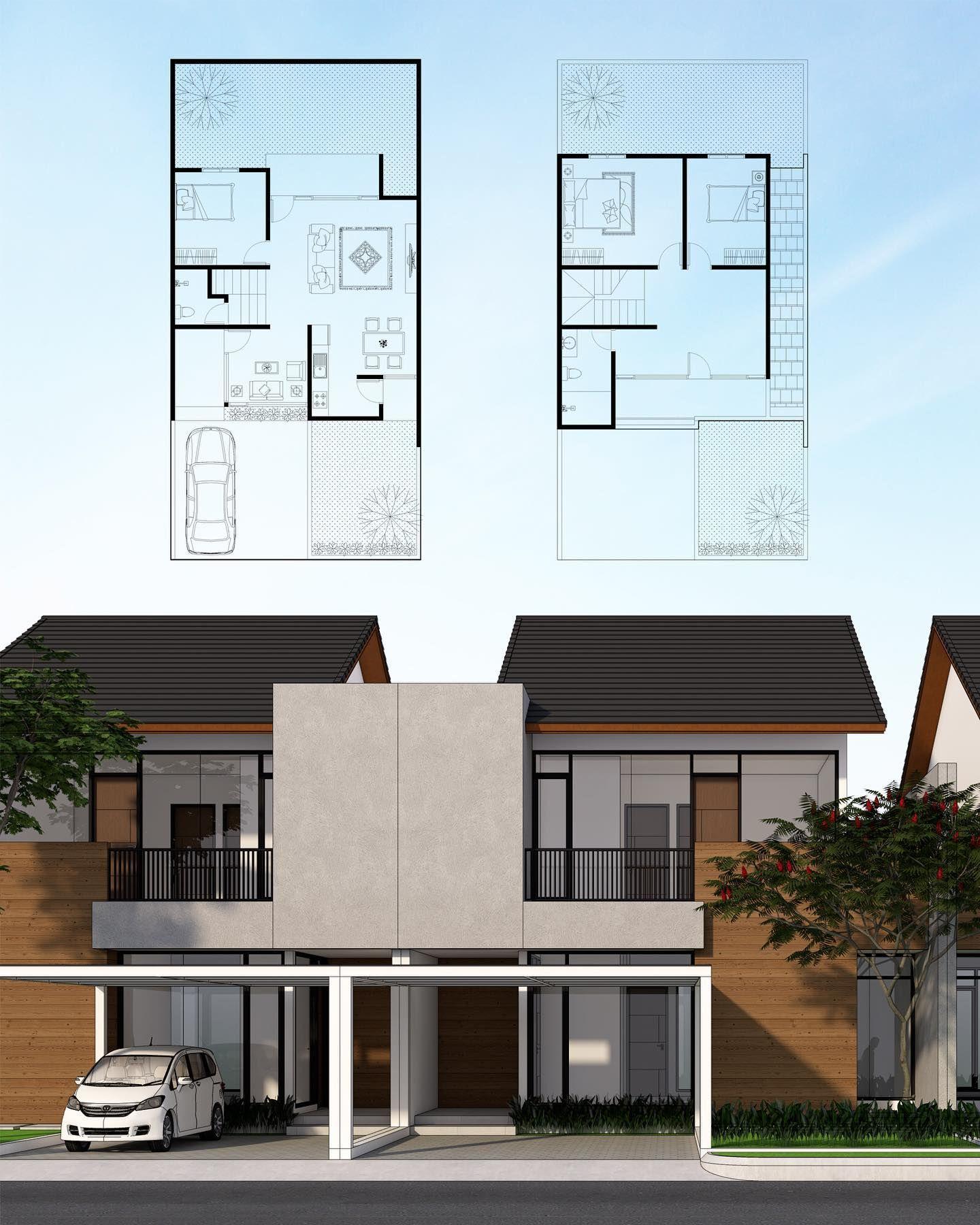 Pin Oleh Christina Maria Chintasari Di Arquitectura Arsitektur Rumah Arsitektur Rumah Minimalis