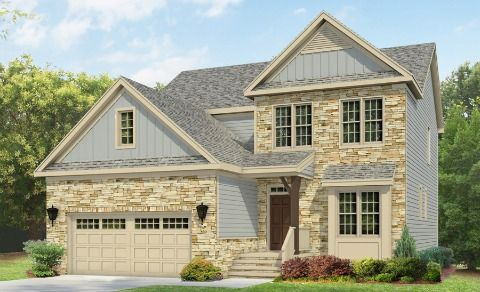 Mayflower New Home Plan In Austin Creek Classic Bonus