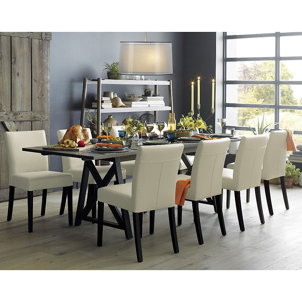 Metraextensiondngtblsi213 Extension Dining Table Dining Table Leather Dining Chairs