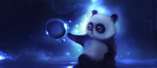 Cute panda art pinterest cats cat wallpaper and - Panda anime wallpaper ...