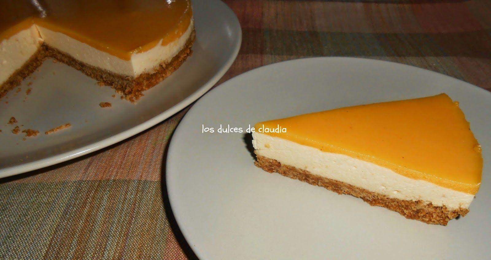 Los Dulces de Claudia: Cheesecake de maracuyá
