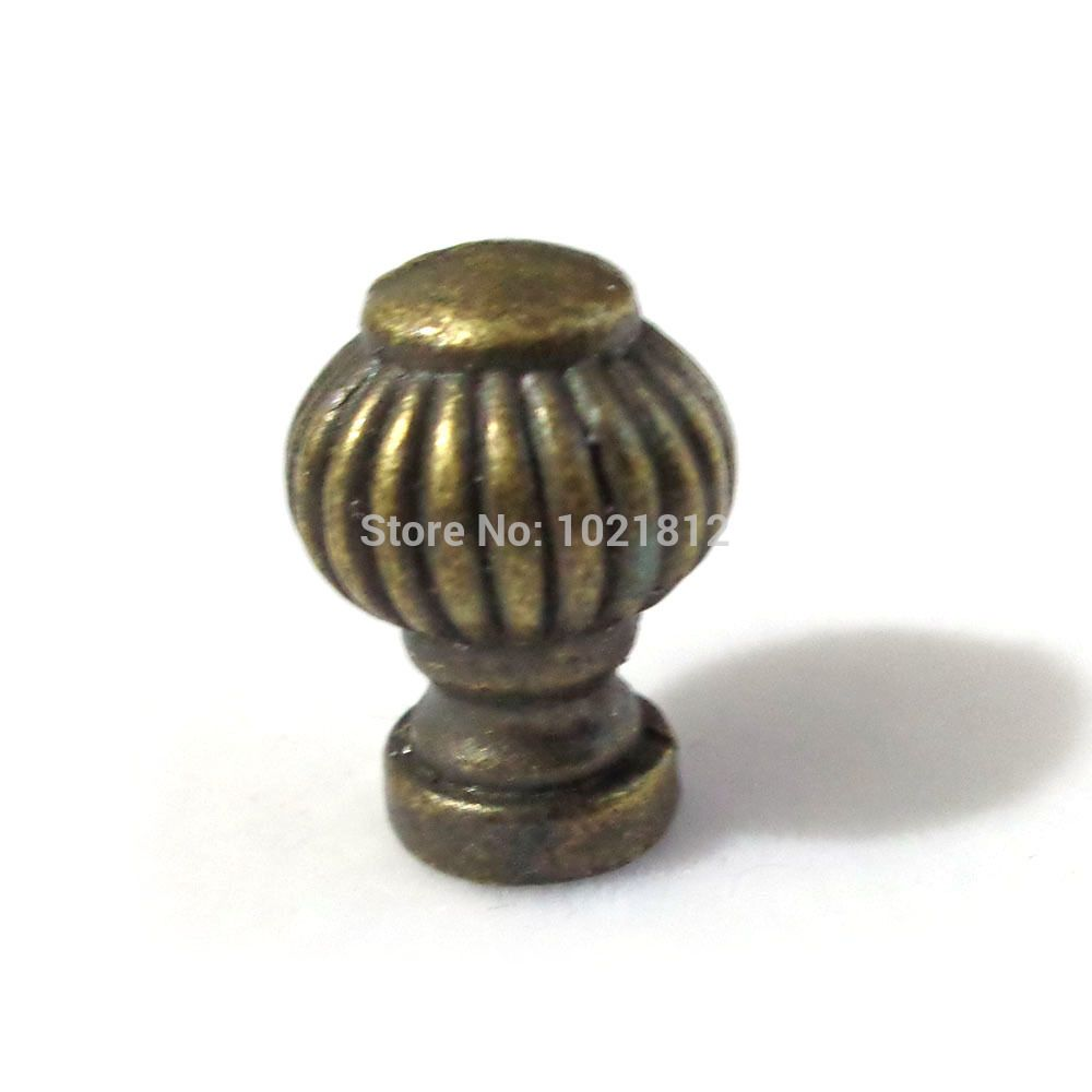 14mm Bronze Little Cabinet Knobs Handles Pulls Drawer Handles Little