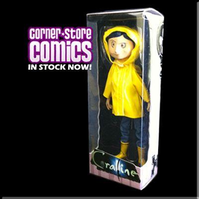 Coraline 6 Bendy Doll In Raincoat Neca In Stock Now Coraline Regenmantel Puppen