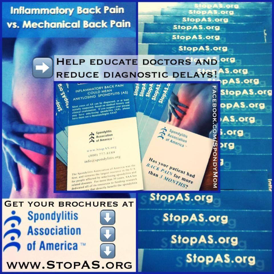 Pin by Spondylitis Association of America on SPONDY