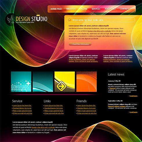 website design templates - Google Search | Web Design | Pinterest ...